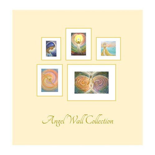 Angel Wall Collection/5 Art Prints
