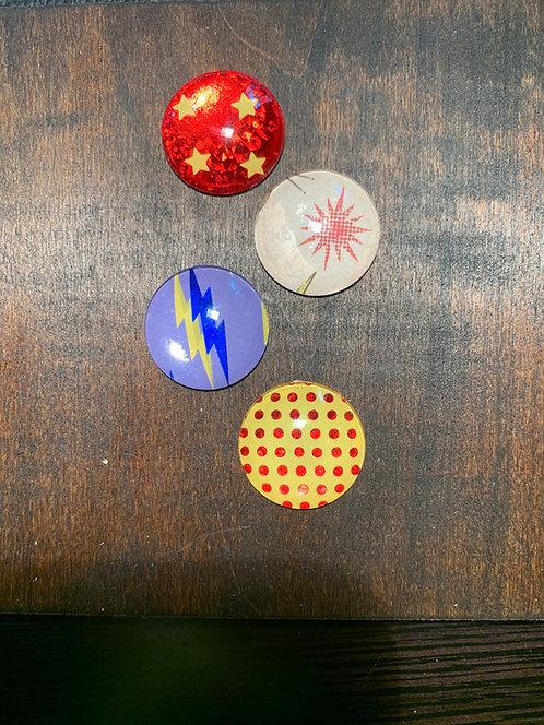 Superhero Magnets (4 pack)