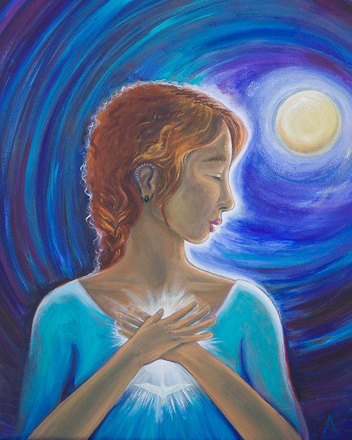 Acceptance, Mother of Faith/Archival Giclee on canvas