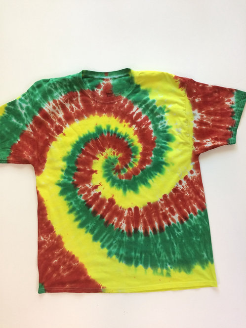 XL Unisex Rasta T-Shirt