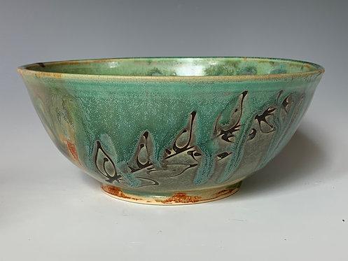 Medium Wax Leaf Bowl
