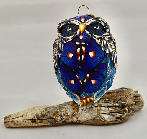 Blue Butterfly Owl