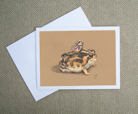 Greeting Card, Butterfrog