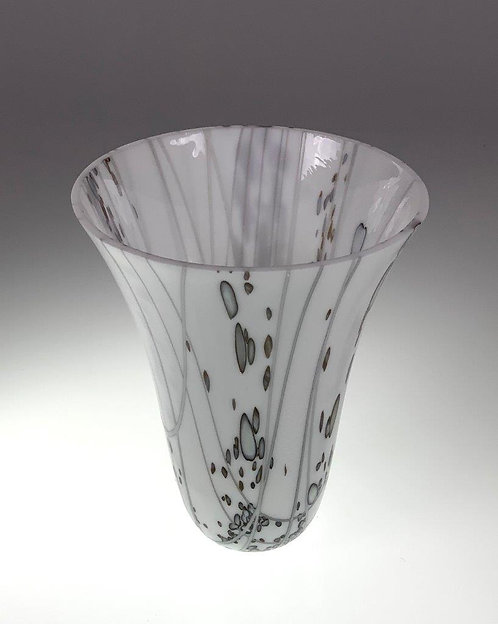 White and Gray Vessel