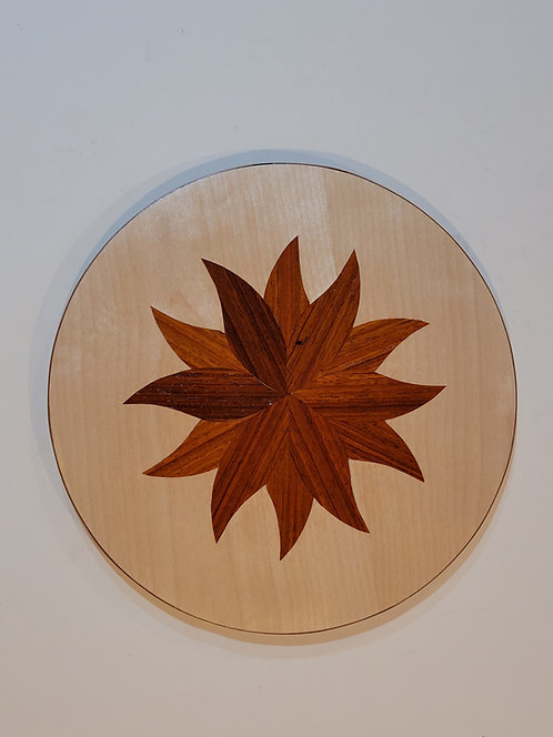 Padauk Flower on Birch