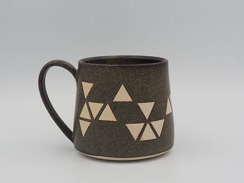 Large Mug With Triangles