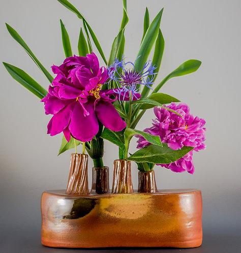 Four Tower Flower Vase