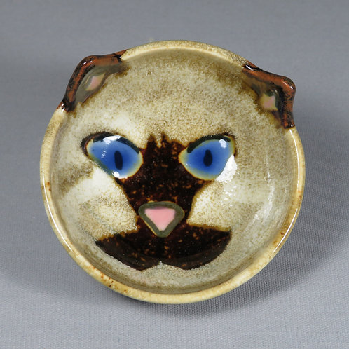 Small Siamese Cat Bowl
