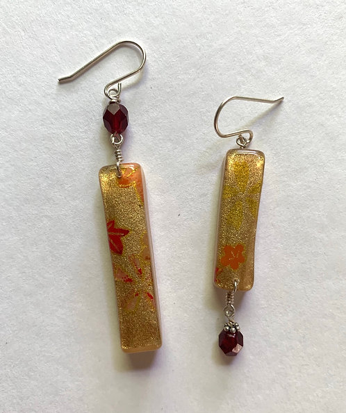 Washi Gold Asymmetric with beads