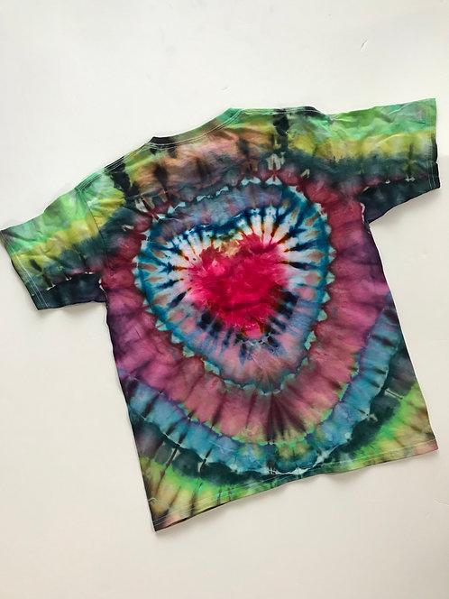 T-Shirt w Heart, XL Youth