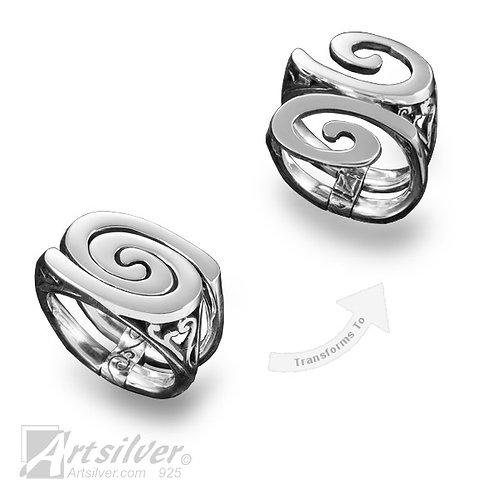 Multi-form Spiral Ring Style KS459