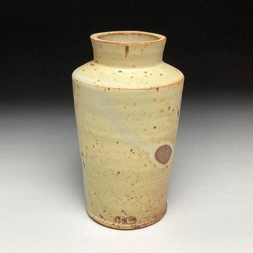 Yellow Fingerprint Vase