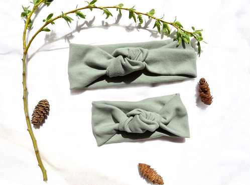 The Fern Knotted Headband