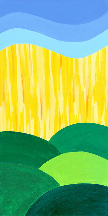 The Hills (Painting)