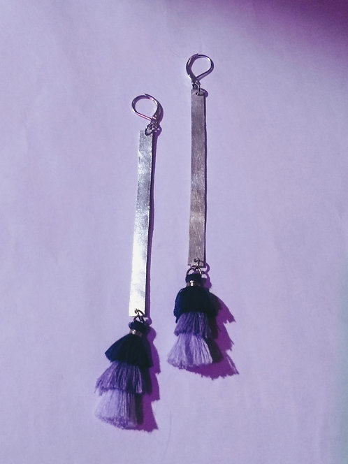 The Long Drop Tassel (Purple)
