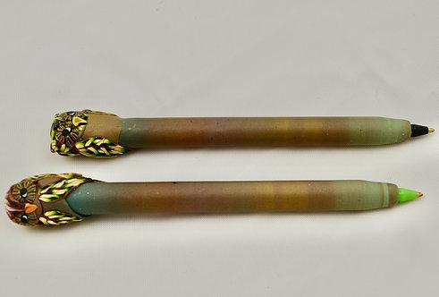 Set of 2 Owl Pens: Bruno & Olive