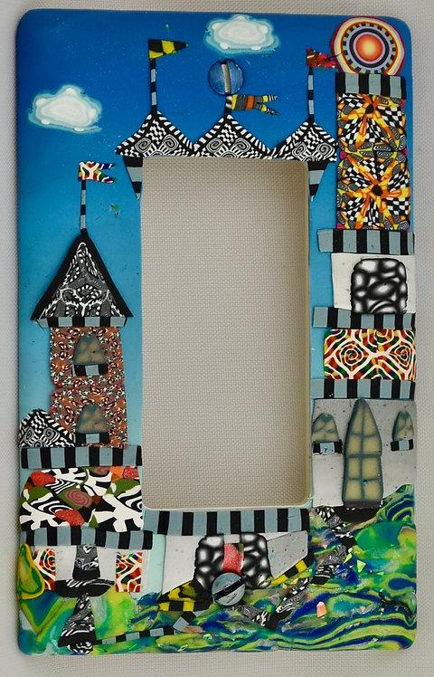 Festive Castle Singler Slider/GFI plate