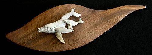Moose Antler Humpback Whale