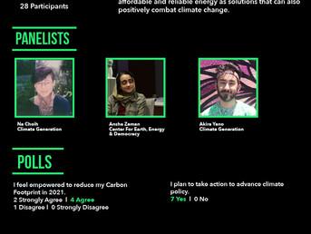 Workshop Recap: Environmental Justice