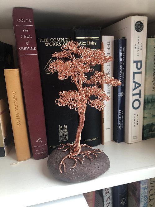 Copper Bonsai on Granite