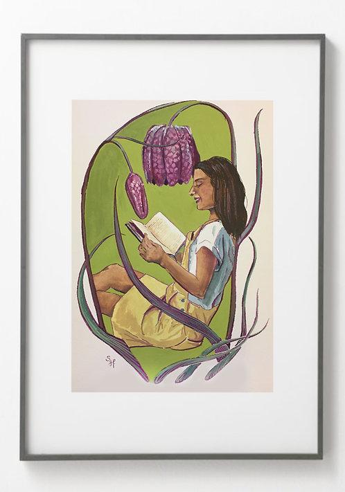 Reading Fritillaria - Reproduction