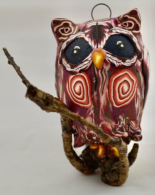 Listening Owl Sculpture