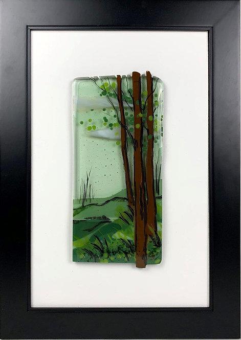 Summer's Edge Framed Art