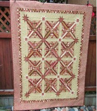 Red Checkered Quilt