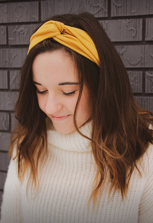Golden Hour Knotted Headband