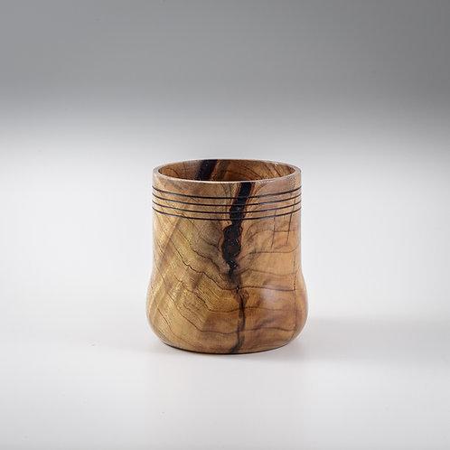Medium Figured Black Locust Vase