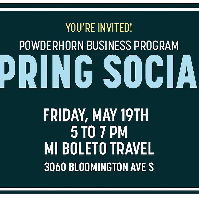 Powderhorn Business Program Spring Social