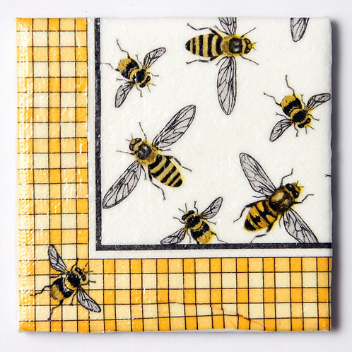 Bees with Yellow Borders