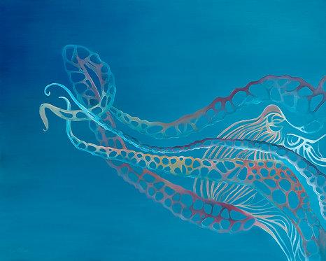 Monterey Octopus Print