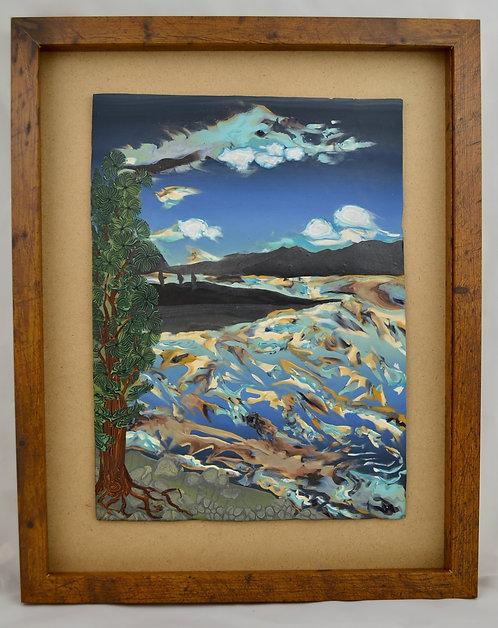 Dusk at Lake Macdonald