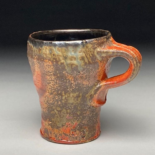 Orange Shino Travel Mug