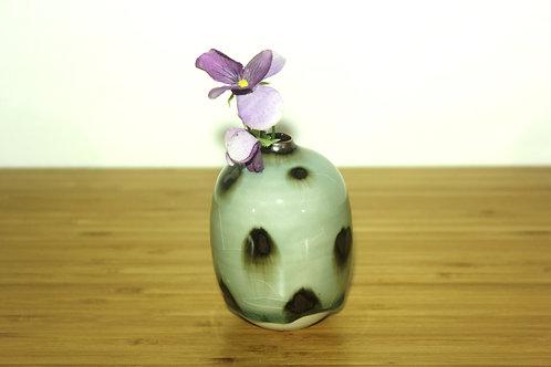 27 Spotted Bud Vase