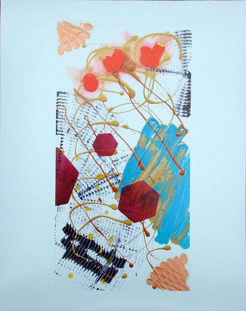 Threes (Print)