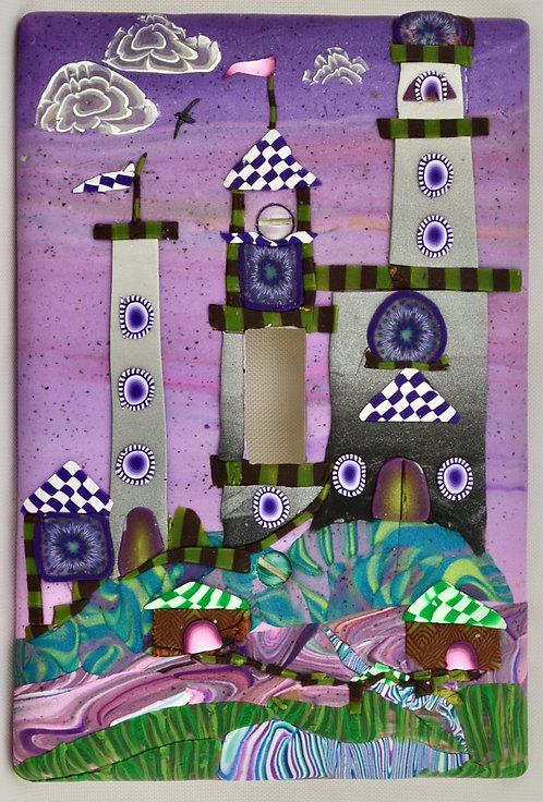 Purple Palace Single Switchplate
