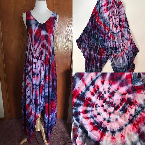Spiral Halter Dress