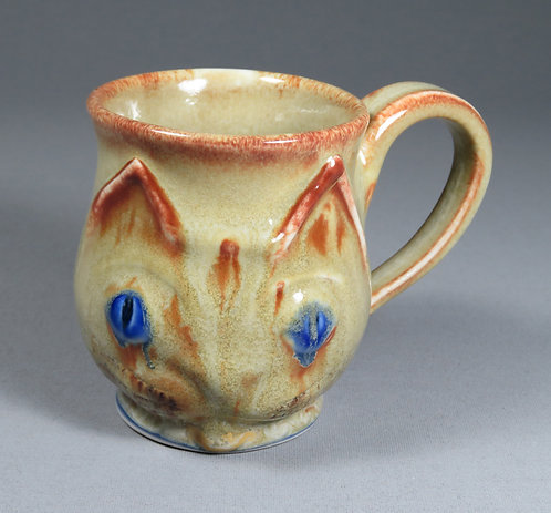 Flame Point Kitten Mug