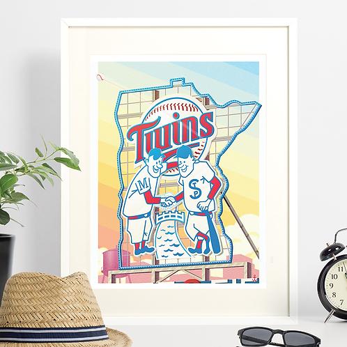Minnesota Twins - Shake on it!