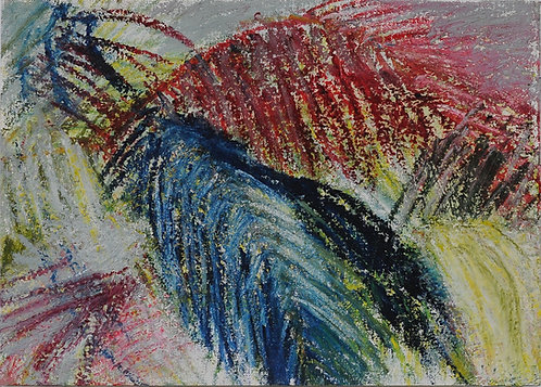 Blue/Red Palms