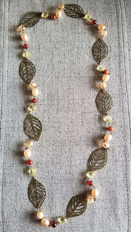 Autumn Leave Necklace