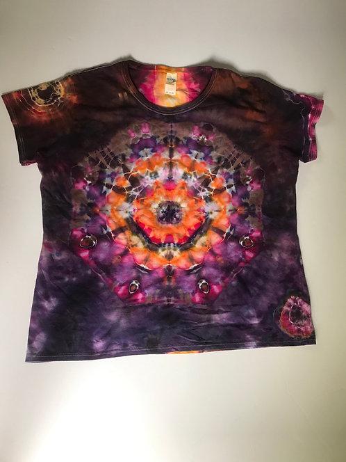 Ladies T-Shirt w Mandala