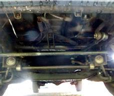 Mitsubishi L300 Vorderachse und Lenkung