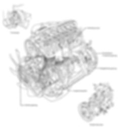 Mitsubishi Dieselmotor Astron 4D55 4D56