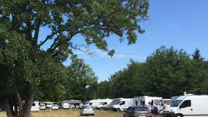 Camping sauvage à Nézel.