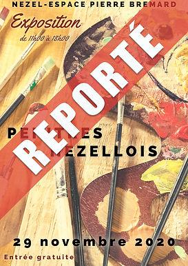 Peintres Nézellois : Exposition reportée