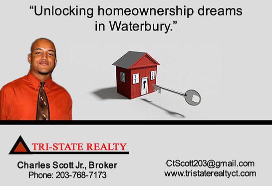 Charles Scott Jr. of Tri-State Realty Waterbury, CT