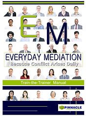 Mediatior's Handbook and Peer Mediation Workbook Mediation Training